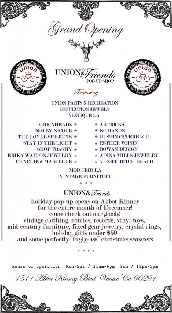 union & friends_grand opening_ invite