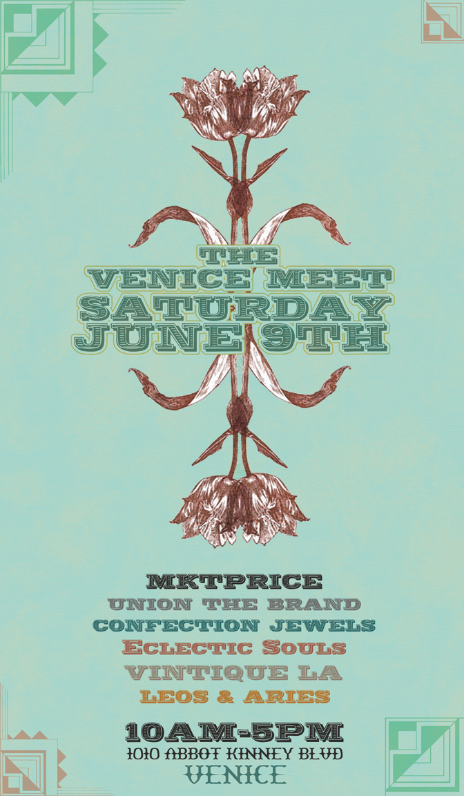 The Venice Meet Flyer- June 9th 2012